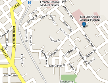 Map of our San Luis location